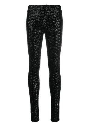Isabel Marant Odiz sequinned trousers - Black