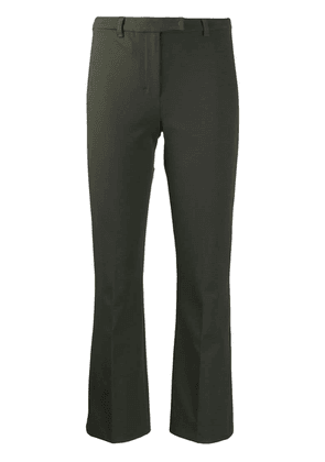 'S Max Mara cropped straight trousers - Green