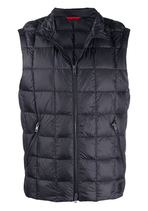 Fay zipped quilted waistcoat - Blue