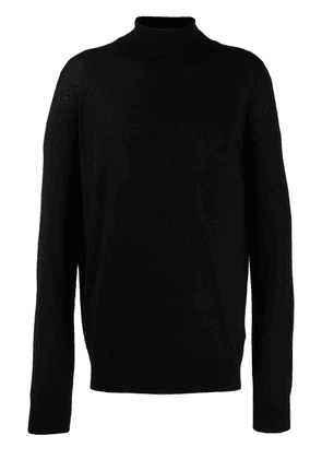 Billionaire turtleneck jumper - Black
