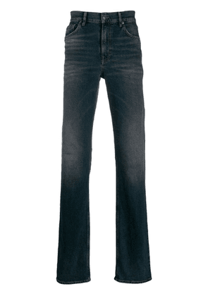 Balenciaga fitted 5-pocket jeans - Blue