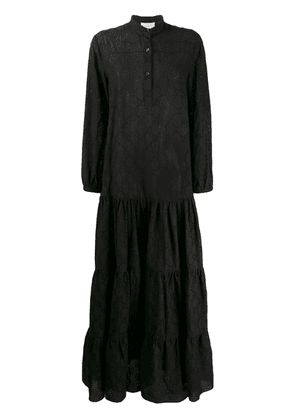 Gucci GG broderie anglaise dress - Black