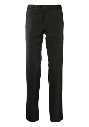 Billionaire classic slim-leg trousers - Black