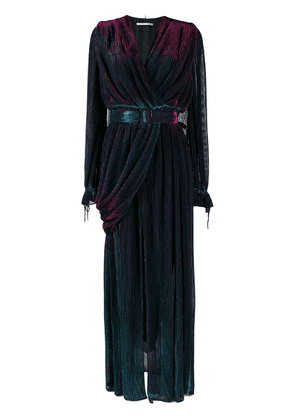 Marco De Vincenzo belted evening gown - Blue