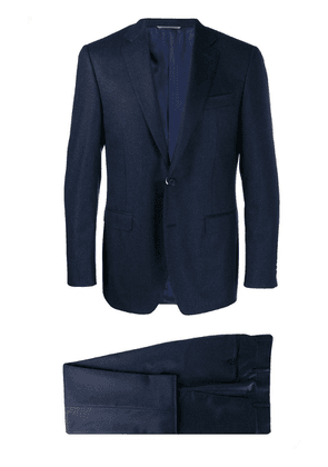 Canali tailored two piece suit - Blue