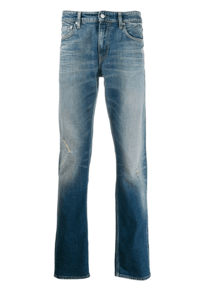 Calvin Klein Jeans washed denim jeans - Blue