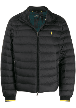 Polo Ralph Lauren embroidered logo padded jacket - Black
