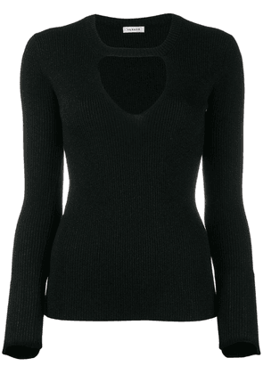 P.A.R.O.S.H. sweatshirt with cut out detail - Black