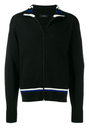 Joseph zip up cardigan - Black