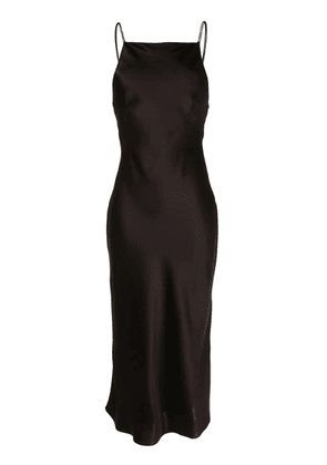 CAMILLA AND MARC Antonelli backless dress - Black