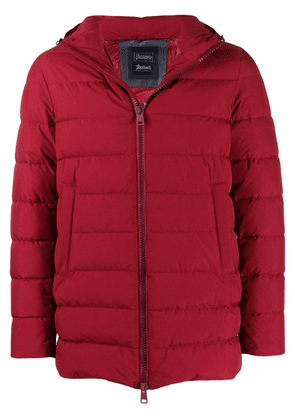 Herno hooded padded jacket - Red