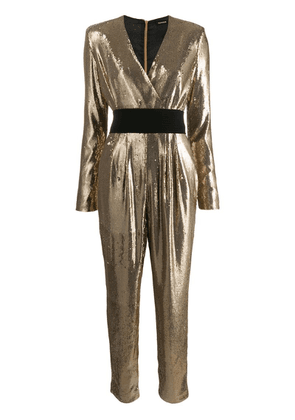 P.A.R.O.S.H. Pilled jumpsuit - Gold