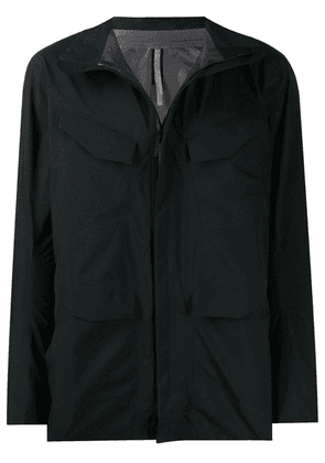 Arc'teryx Veilance zipped fitted jacket - Black