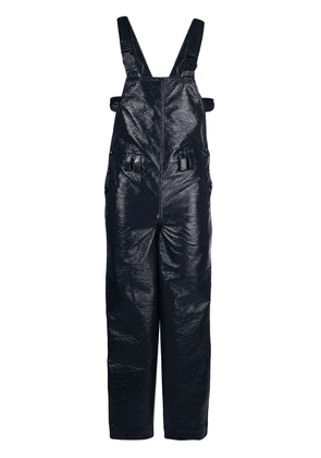 Angus Chiang hexagon pocket overalls - Blue