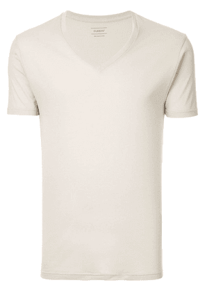 D'urban plain underwear top - White