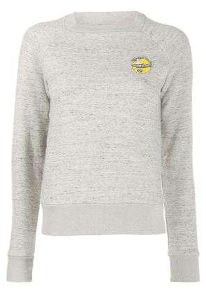 Maison Kitsuné lemon patch sweatshirt - Neutrals
