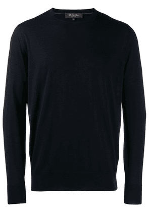 Loro Piana crew neck sweater - Blue