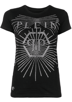 Philipp Plein Crystal round neck T-shirt - Black