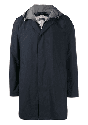 Loro Piana hooded rain jacket - Blue