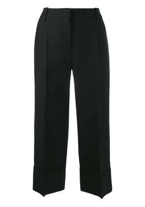 Valentino cropped tailored trousers - Black