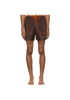 Paul Smith Red Leopard Classic Swimsuit