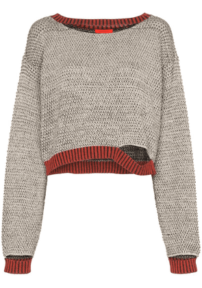 Eckhaus Latta Wiggly Road knitted jumper - Multicolour