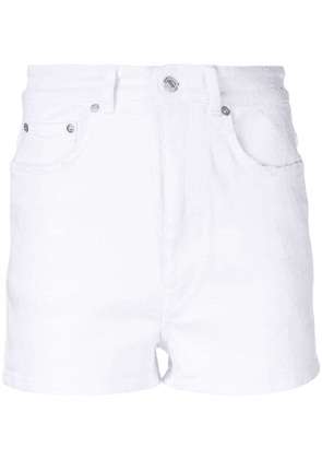 Givenchy short denim shorts - White