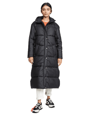Off-White Long Down Jacket