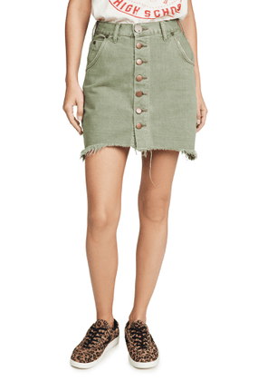 One Teaspoon Super Viper High Waist Skirt