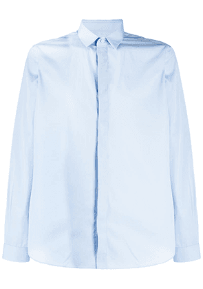 Valentino concealed front fastening shirt - Blue