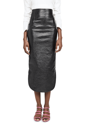 A.W.A.K.E. Canyon Metallic Pencil Skirt