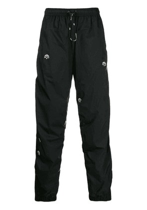 Adidas Originals By Alexander Wang drop-crotch track trousers - Black
