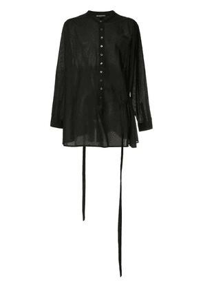 Ann Demeulemeester loose fit shirt - Black