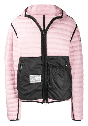 Colmar A.G.E. By Shayne Oliver contrast panel padded jacket - Pink