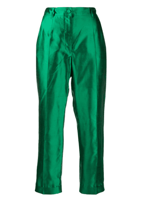 Dolce & Gabbana cropped trousers - Green