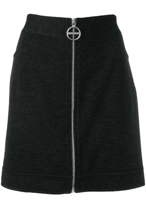 Givenchy zipped-up skirt - Grey