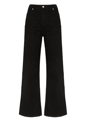 Eckhaus Latta wide-leg jeans - Black
