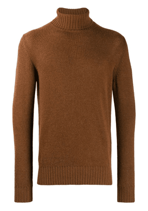 Loro Piana turtle neck jumper - Brown