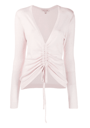 Autumn Cashmere ruched style sweater - Pink