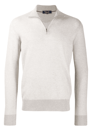 Loro Piana roll neck sweater - Grey