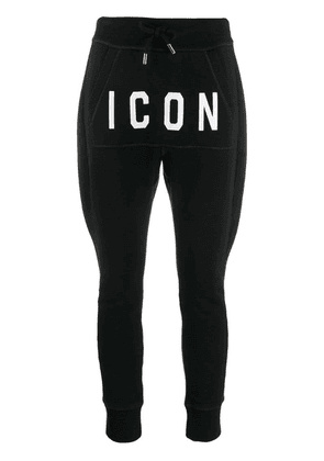 Dsquared2 Icon track pants - Black
