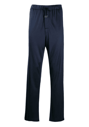 Brioni drawstring lounge trousers - Blue