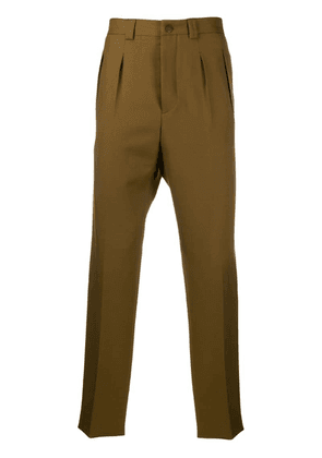 Givenchy straight-leg tailored trousers - Brown