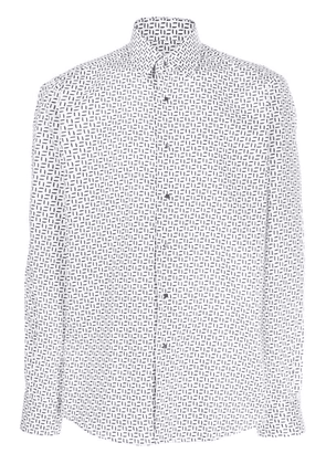 Karl Lagerfeld slim-fit shirt - White