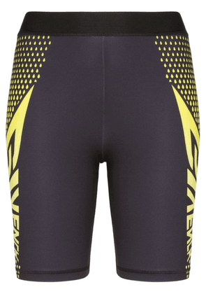 Givenchy logo print cycling shorts - Black