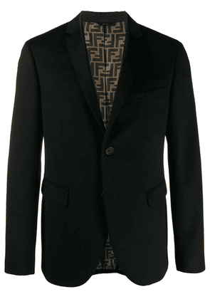 Fendi tailored blazer - Black