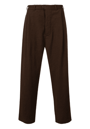 Casey Casey wide-leg trousers - Brown