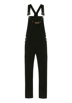 Amapô denim dungarees - Black