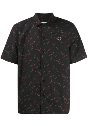 Fred Perry x Miles Kane floral shirt - Black