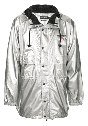 Ralph Lauren P-Wing metallic raincoat - Silver